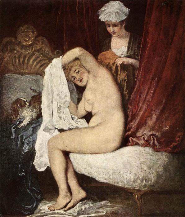 16toilet. Jean-Antoine Watteau