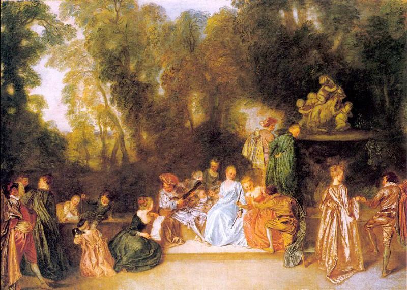 watteau37. Jean-Antoine Watteau