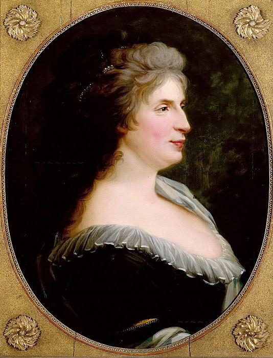 Portrait of Marianne Schadow. Friedrich Georg Weitsch