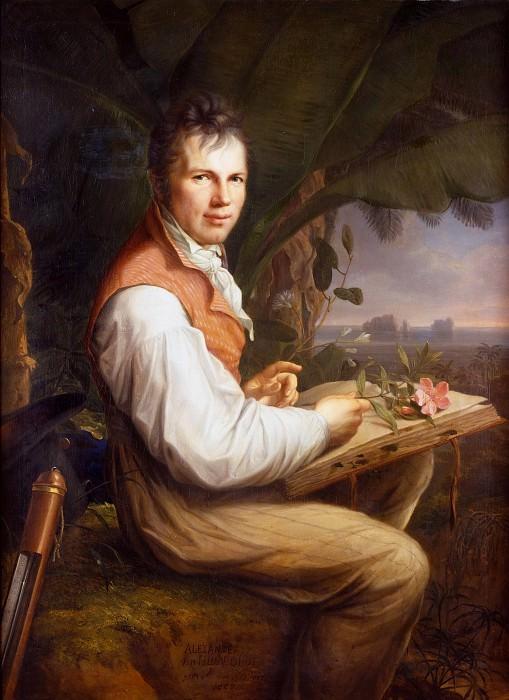 Alexander von Humboldt. Friedrich Georg Weitsch