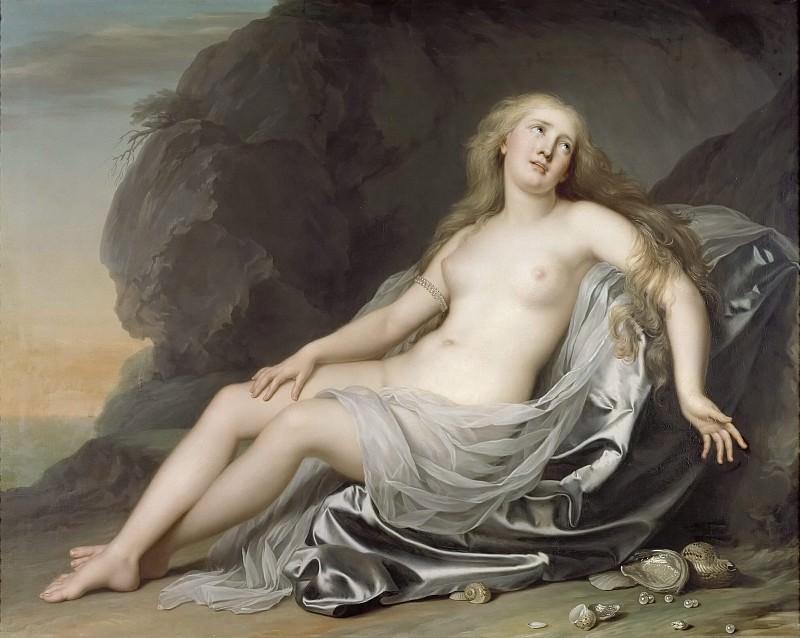 Ariadne Lying on the Shore of Naxos. Adolf Ulrik Wertmüller