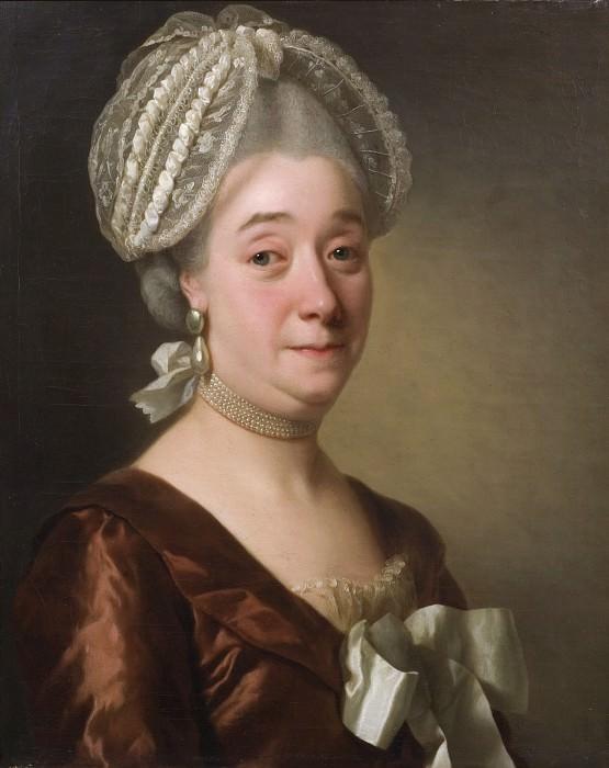 Maria Ravens (1720-1786). Adolf Ulrik Wertmüller