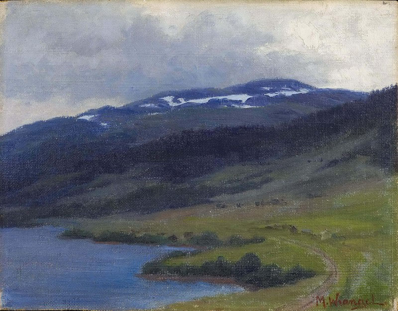 Mullfjället seen from Åre. Maria Wrangel