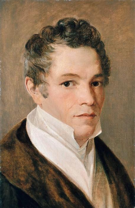 Портрет Карла Фридриха Шинкеля. Иоганн Эдуард Вольф