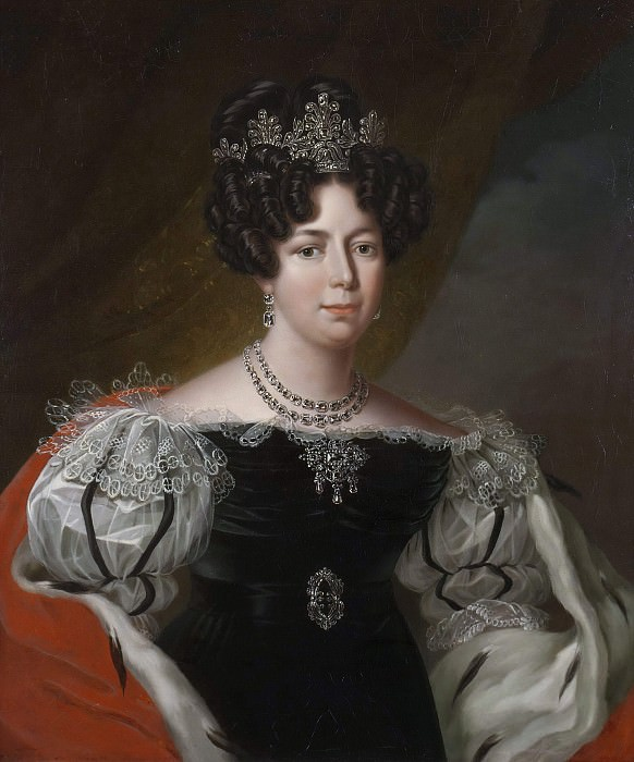 Desideria (1777-1860), Queen of Sweden and Norway. Fredric Westin (Attributed)