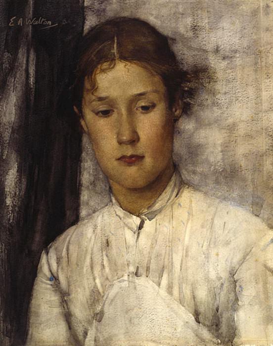 The Game Keepers Daughter. Edward Arthur Walton