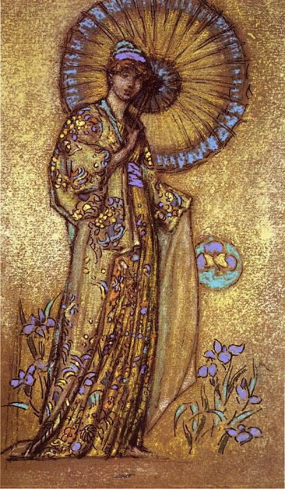 Whistler Design for a Mosaic. James Abbott Mcneill Whistler