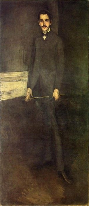 Whistler Portrait of George W. Vanderbilt. James Abbott Mcneill Whistler