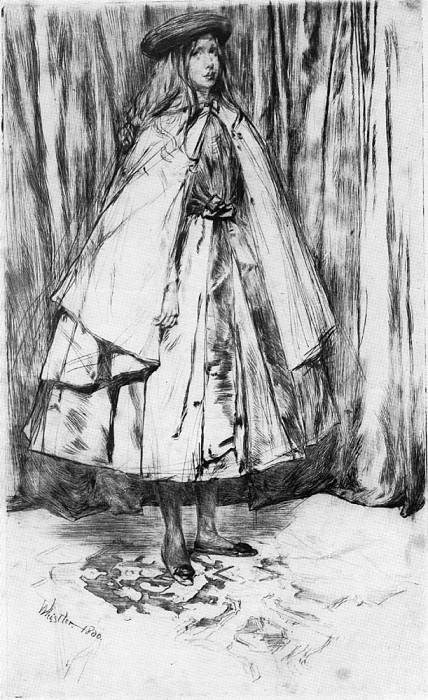 Whistler Annie Haden. James Abbott Mcneill Whistler