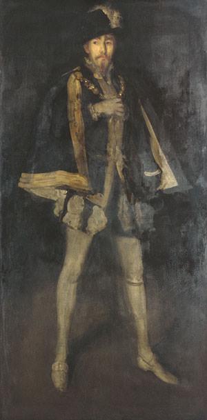 Whistler James Abbott McNeill Arrangement in Black. James Abbott Mcneill Whistler
