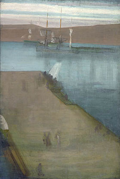 Whistler James Abott McNeill Valparaiso Harbor. Джеймс Эббот Мак-Нейл Уистлер