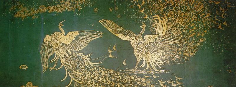 peacock-fight. Джеймс Эббот Мак-Нейл Уистлер