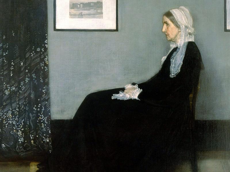Whistlers Mother, James Abbott McNeill Whistler - 1600x1200. James Abbott Mcneill Whistler