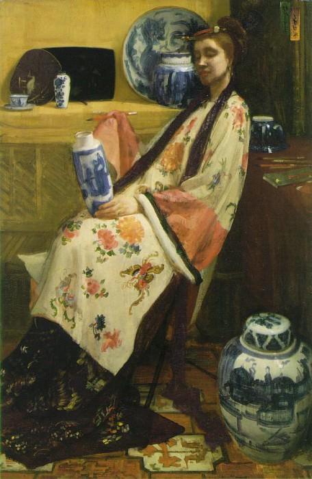 purple-rose. James Abbott Mcneill Whistler