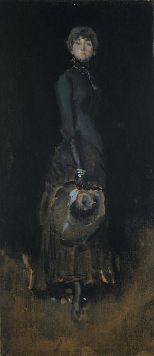 Whistler James Abbott McNeill Lady In Gray. James Abbott Mcneill Whistler