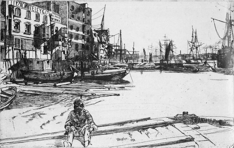 Whistler Eagle Wharf. James Abbott Mcneill Whistler