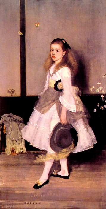 Harmony in Grey and Green Miss Cicely Alexander. James Abbott Mcneill Whistler