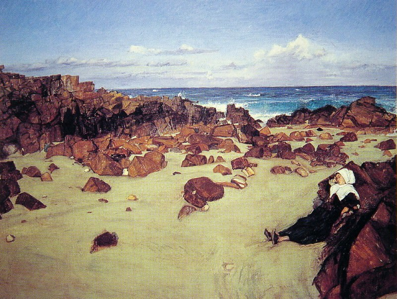 The Coast of Brittany. James Abbott Mcneill Whistler