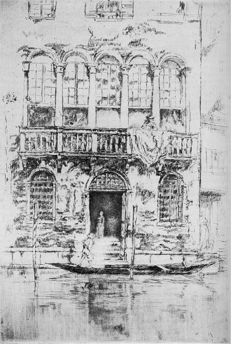 Whistler The Balcony. Джеймс Эббот Мак-Нейл Уистлер