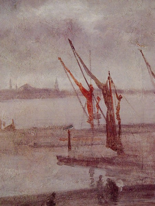 Chelsea Wharf Grey and Silver. James Abbott Mcneill Whistler