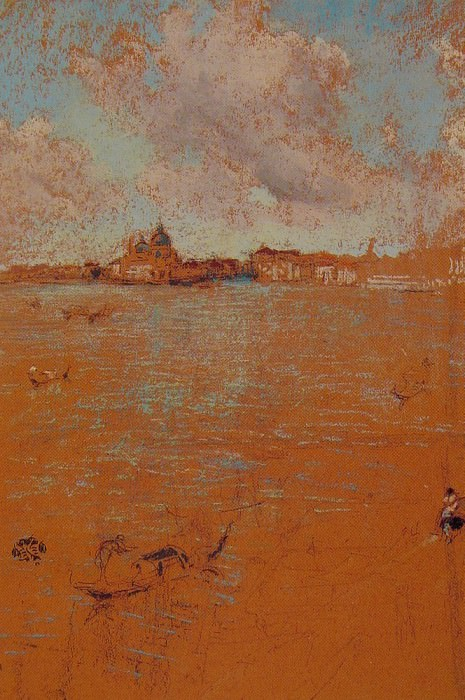 Venetian Scene. James Abbott Mcneill Whistler