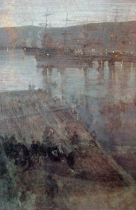 Nocturne in Blue and Gold Valparaiso Bay. James Abbott Mcneill Whistler
