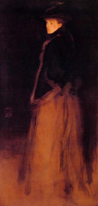 Arrangement in Black and Brown. James Abbott Mcneill Whistler