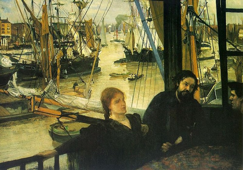 Wapping on Thames. James Abbott Mcneill Whistler