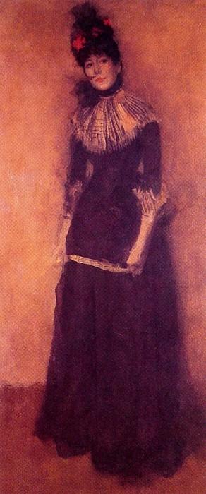 Rose et argent La Jolie Mutine. James Abbott Mcneill Whistler
