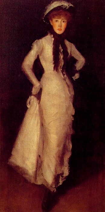 Arragnement in White and Black. James Abbott Mcneill Whistler