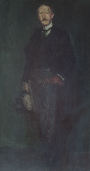 Whistler James Abbott McNeill Edward Guthrie Kennedy. Джеймс Эббот Мак-Нейл Уистлер