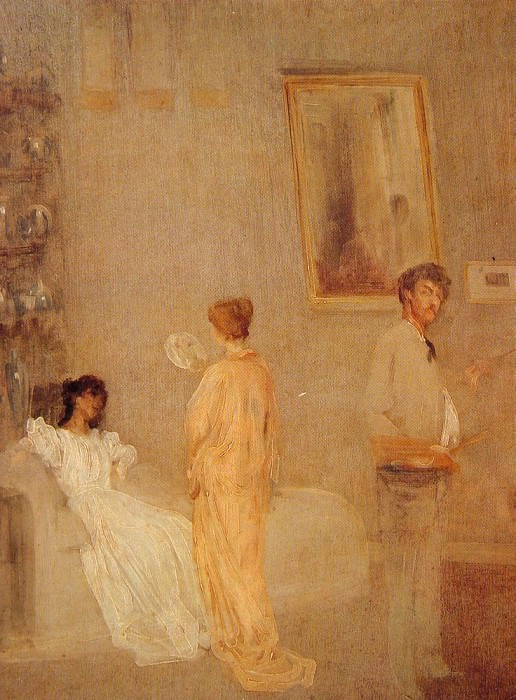 Whistler in his Studio. James Abbott Mcneill Whistler