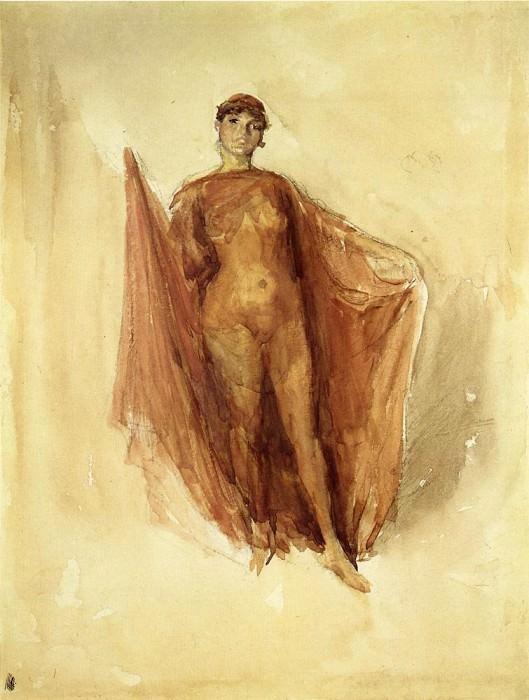 Whistler Dancing Girl. James Abbott Mcneill Whistler