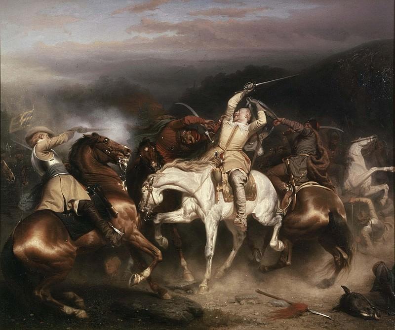 Король Швеции Густав II Адольф в Штуме. Карл Валбом