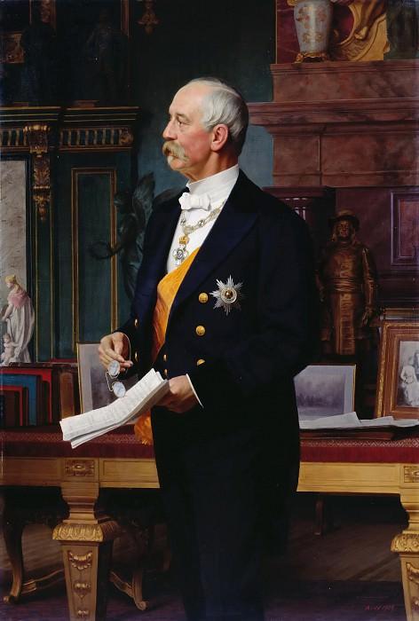 Privy Councillor von Lucanus. Anton von Werner