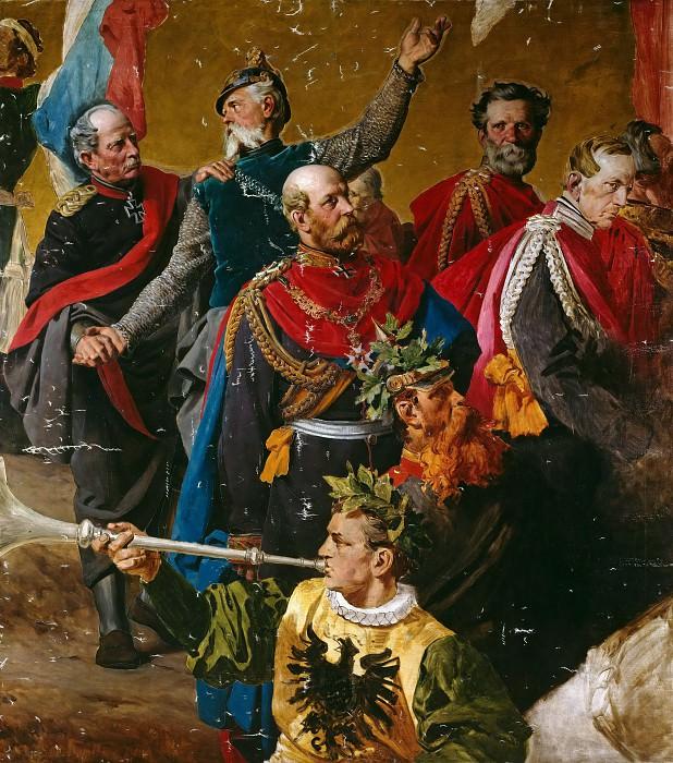 Картон для Колонны Победы. Антон фон Вернер