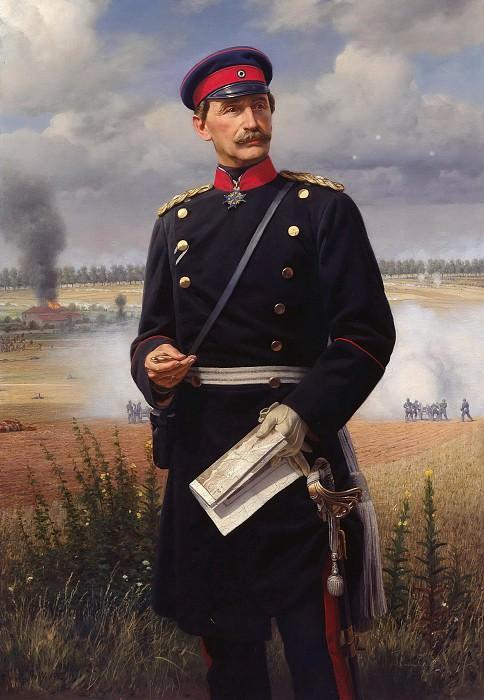 The Infantry General Konstantin von Alvensleben. Anton von Werner