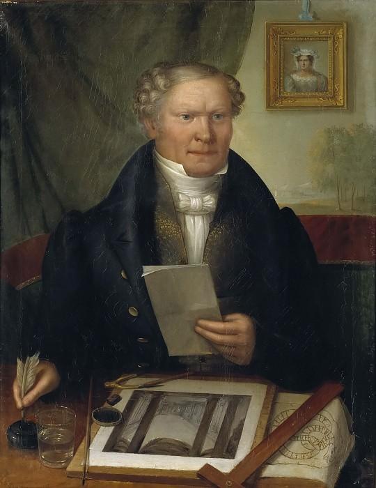 Pehr Axel Nyström (1793-1868). Erik Wahlbergson
