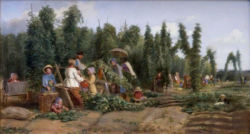 Hop Garden. Thomas Webster