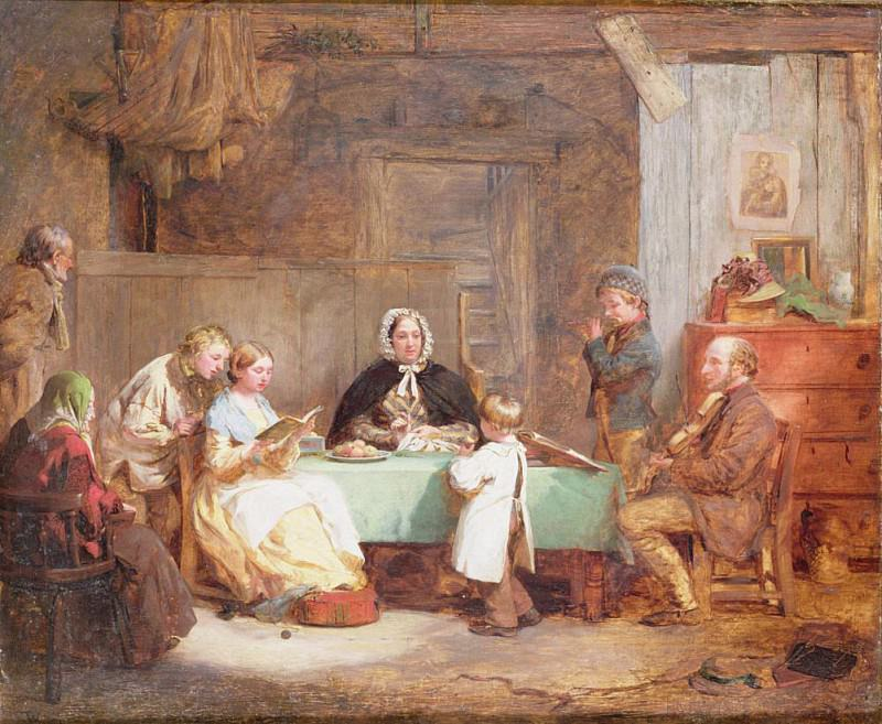 A Musical Evening. Thomas Webster