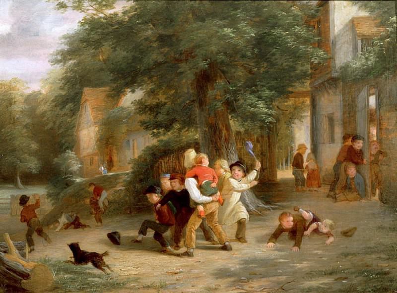 The Playground. Thomas Webster