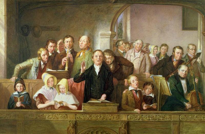 A Village Choir. Thomas Webster