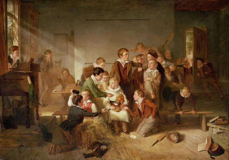 The Boy with many friends. Thomas Webster