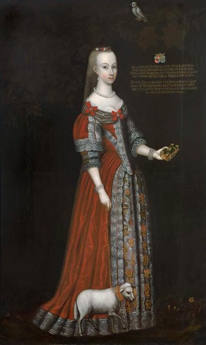 Beata Brahe (1599-1617). Johan Johansson (Jägerdorfer) Werner d.a.