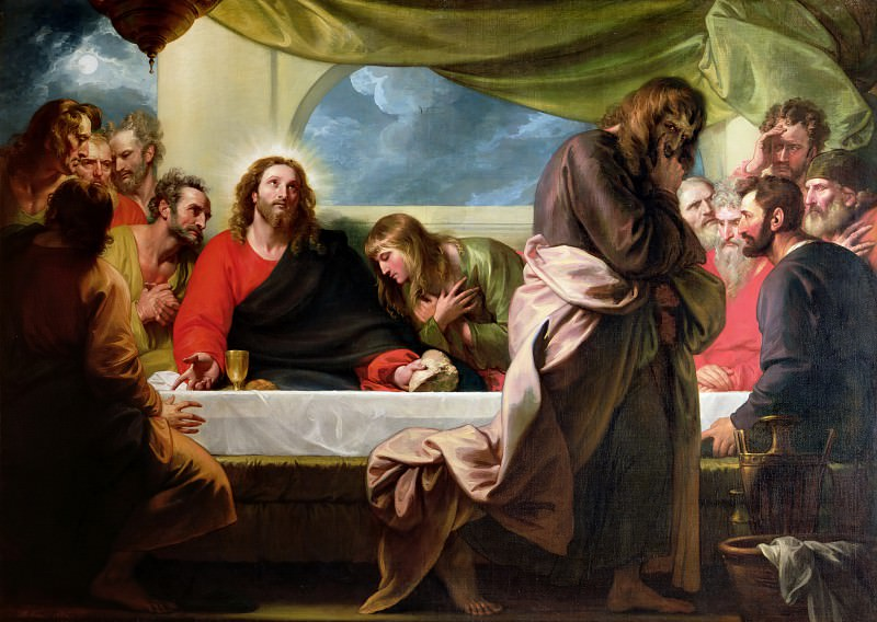 The Last Supper. Бенджамин Уэст