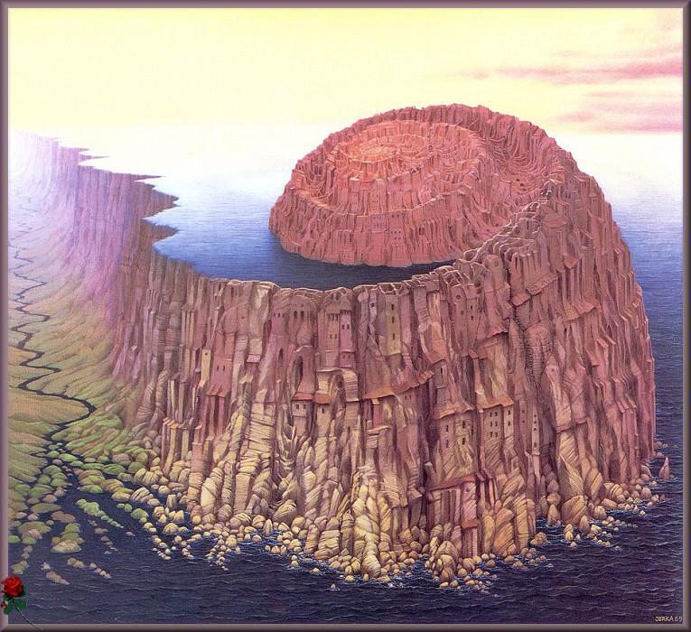 vc JacekYerka Ammonite. Jacek Yerka