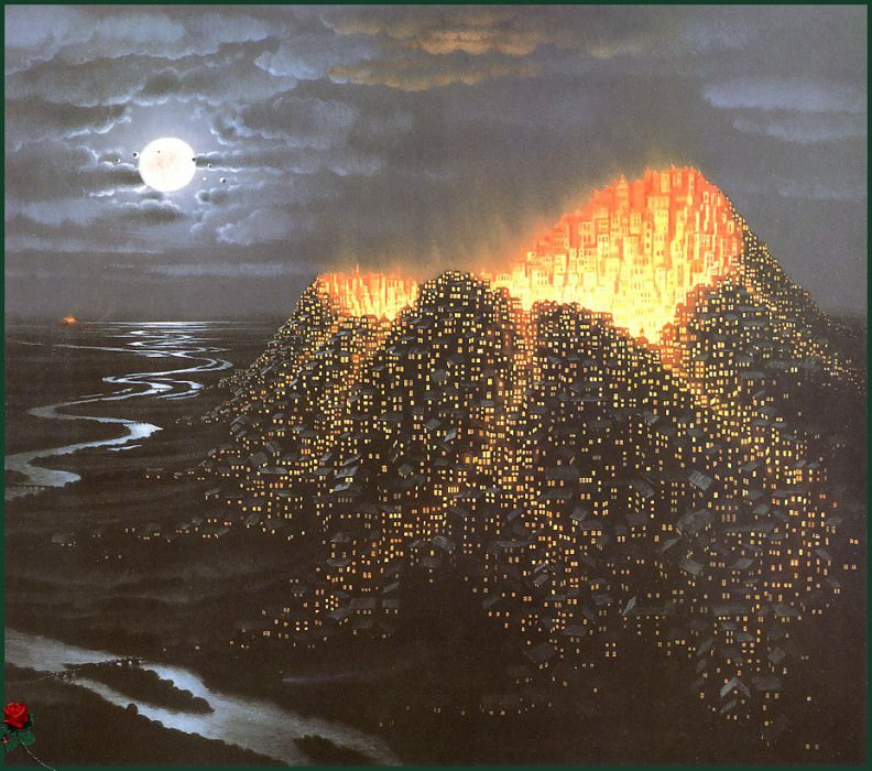 vc JacekYerka Eruption. Jacek Yerka
