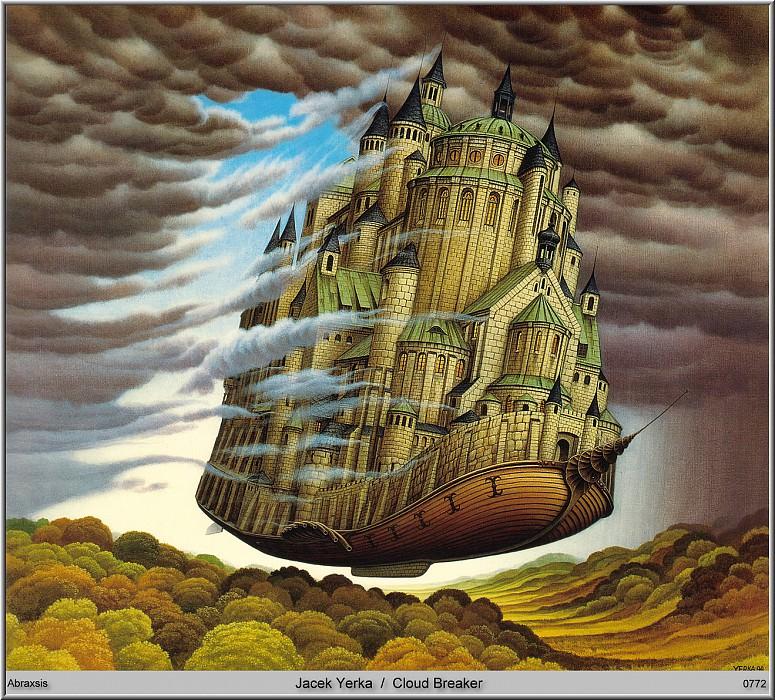 Jacek Yerka - Cloud Breaker (Abraxsis). Jacek Yerka