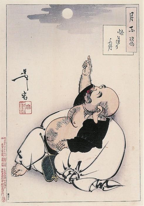 012 Moon Of Enlightenment Godo no tsuki. Yoshitoshi