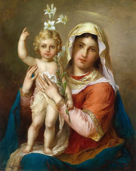 Madonna and child. Hans Zatzka